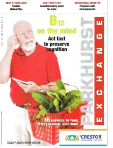 cover of Parkhurst Exchange issue May 2011